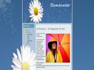 Joomla Template Blumenmeer
